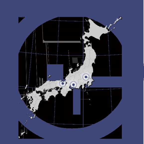 自社発電所マップ